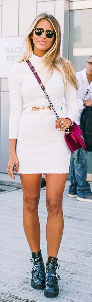 Janni Deler Black And White N Y F W Fall Inspo