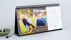 Photo Desk Calendars. Keep your loved ones close to you while you work.
