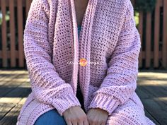 The Hygge Homebody Cozy Crochet Cardigan pattern is free and beginner friendly. The photo tutorial is filled with step by step instructions and pictures. Crochet Patterns For Beginners, Knitting For Beginners, Knitting Patterns, Easy Crochet, Free Crochet, Beginner Crochet, Crochet Tops, Crochet Baby, Crochet Summer
