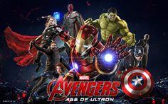 #Avengers #Fan #Art. (Avengers : Age of Ultron Promo Art Poster) By: BAD--PiXEL.