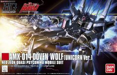 HGUC 1/144 scale AMX-014 Doven Wolf (Unicorn Ver.)