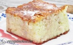 Érdekel a receptje? Kattints a képre! Pudding Recipes, Something Sweet, Jello, Vanilla Cake, Banana Bread, French Toast, Vegan, Breakfast, Food
