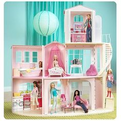barbie dream houses   Barbie 3-Story Dream House Playset - Mattel - Barbie - Playsets at ...