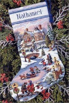 Brilliant Cross Stitch Embroidery Tips Ideas. Mesmerizing Cross Stitch Embroidery Tips Ideas. Cross Stitch Christmas Stockings, Cross Stitch Stocking, Christmas Stocking Pattern, Christmas Stocking Holders, Xmas Stockings, Christmas Cross, Merry Christmas, Cross Stitch Love, Cross Stitch Kits