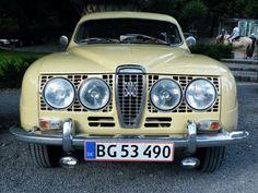 Rally Lights on a Saab 96 (1965?)