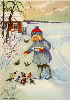 peintre illust jenny nystrom - Page 8 Vintage Christmas Images, Victorian Christmas, Vintage Holiday, Christmas Pictures, Christmas Past, Christmas Greetings, Winter Christmas, Vintage Greeting Cards, Vintage Postcards