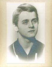 Mikhail Baryshnikov, age 19. Via  NYPL's 'Sneaking a Peek at Baryshnikov'