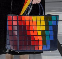 patternprints journal: PATTERNS, PRINTS, TEXTURES AND SURFACES INTO F/W 2016/17 FASHION COLLECTIONS / LONDON 2 - Anya Hindmarch