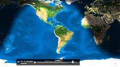 The Globe Earth - Sunrise & Sunset  Animated