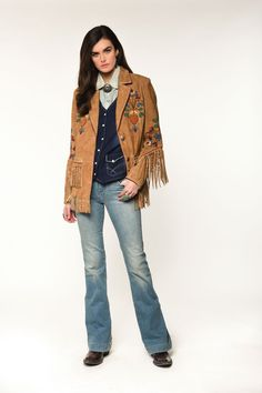 Double D Ranch, Indian Paintbrush, Field Jacket, Suede Jacket, Metal Buttons, Duster Coat, Kimono Top, Jackets, Horn