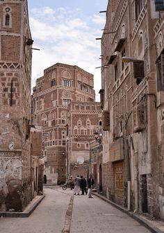 Old Sana'a - Yemen (von Rod Waddington)