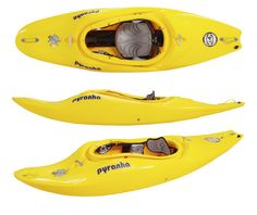 An evolution of the popular i3 series, the i4 was finely tuned with the river play kayaker in mind. The i4 was our 'one boat option', designed for those who wanted to take the same boat they use at their local playspot over to the rivers, or out in the surf. Playful when it needed to be, but still with all the classic Pyranha predictability you need when you want to run clean lines through harder rapids, this boat was heaps of fun to paddle!