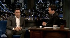 Affleck laughs on Fallon about Batman haters