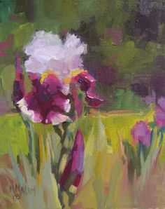 Mary Maxam - paintings: Manito Iris