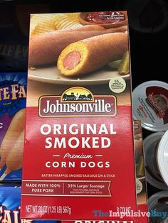 Johnsonville Original Smoked Premium Corn Dogs