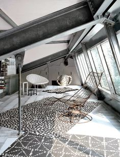The industrial home of Paola Navone in Milano