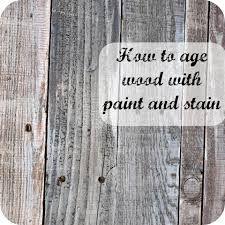 aged wood finish - Google Search