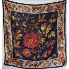 burberrys vintage silk scarf, burberrys sciarpa, seidetuch burberrys