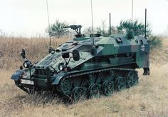 Wiesel Mk20-920-20 Light Air-transportable Armored Fighting Vehicle.