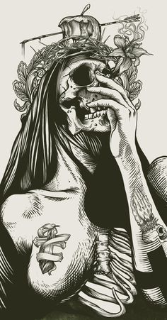 """Skull"" by DZO Olivier"
