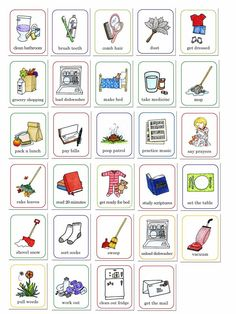 susan fitch design job chart I am a mother And like most mothers I am trying to teach my children how to work and how to take care of themselves which is also a polite wa. Preschool Chores, Toddler Chores, Preschool Chore Charts, Children Chores, Kid Chores, Toddler Behavior, Toddler Boys, Kids Boys, Chore Chart Pictures