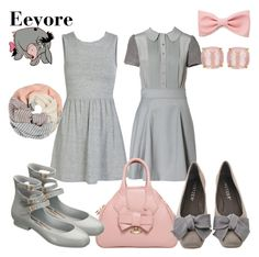 """""""Eeyore"""" by wonderlandofgeeks ❤ liked on Polyvore featuring ONLY, M Missoni, Forever 21, Vivienne Westwood, Melissa, Shawlsmith London, Kate Spade, women's clothing, women's fashion and women"""