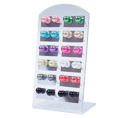 NEW Women's 12 Pair Ear Stud Faux Pearl Round Ball Earrings Set Eardrop Multi color  4XC4-in Stud Earrings from Jewelry on Aliexpress.com | Alibaba Group