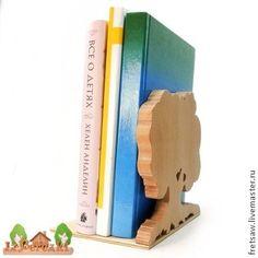 """Держатель для книг """"Старый дуб"""" - книжная полка,держатель для книг,подставка для книг"""