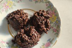 No-Bake Chocolate Coconut Macaroons (Grain Free, Dairy Free)