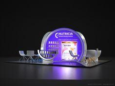 Nutricia - Bebelac - AptamilFuar ve Medikal Kongre Standı Tasarımı / Exhibition Booth Stand Design 6x6