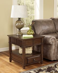 Gately Rectangular End Table | Ashley | Home Gallery Stores