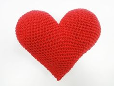 Большое доброе сердце Great kind heart Crochet - YouTube