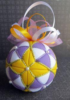 Geometric Kimekomi Ornament Four Point Star by OrnamentDesigns
