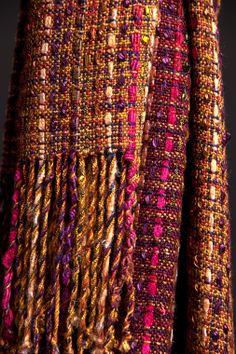 Woven shawl by Linda...