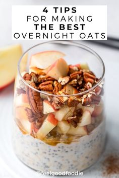I'll let you into a secret - making truly delicious Overnight Oats is all down to the ratios! Follow these 4 tips for the Best Overnight Oats recipe and adjust to taste - and don't forget the toppings! Here are 4 delicious toppings to get you started, but feel free to let your imagination run wild! Breakfast For A Crowd, Quick And Easy Breakfast, Breakfast Ideas, Breakfast Recipes, Best Overnight Oats Recipe, Easy Overnight Oats, Bff Birthday, Oatmeal Recipes, Vegan Foods