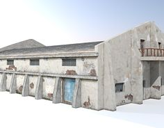 "Check out new work on my @Behance portfolio: ""Industrial Hall Model"" http://on.be.net/1Wq63bt"