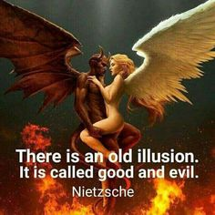 Sin, salvation, good, evil, ... , money etc. are all fictions...