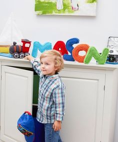 This is the perfect gift for babies and toddlers. This name train, assuming you child doesn't have a massive long name can be ready just in time for Christmas. The pattern covers each letter …