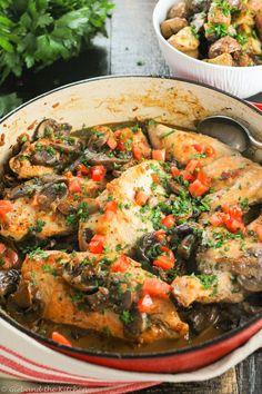 Healthy Chicken Breast Recipes: Chicken Marsala