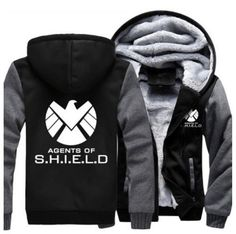 Agents of Shield S.H.I.E.L.D. Jacket Sweatshirts