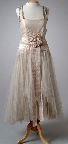 Callot Soeurs - Robe de Soirée - 1923