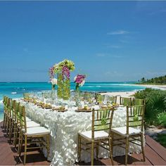 Enjoy your wedding reception and enjoy this view at the same time.