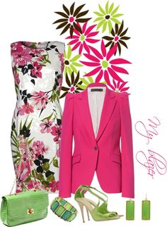 """Verde"" by simona-mari on Polyvore"