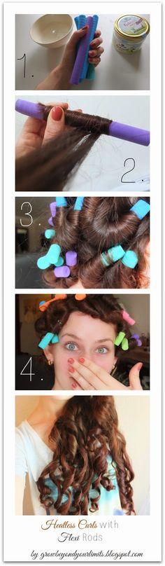 Grow Beyond Your Limits: Flechtwerk: Heatless Curls with Flexi Rods