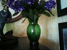 Emerald Green Vase. $7.99, via Etsy.