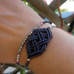 #macrame #hematite #swarovski #lovely Macrame, Swarovski, Handmade Jewelry, Bracelets, Instagram, Handmade Jewellery, Jewellery Making, Diy Jewelry, Bracelet