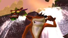 Crash Bandicoot with his itchy ear Crash Bandicoot, Spyro The Dragon, Playstation Games, Best Games, Videogames, Childhood, Humor, Infancy