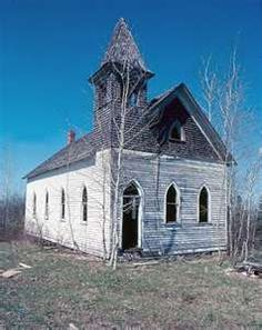 Abandoned church....church off of Resident evil ......