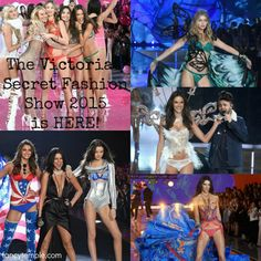The Victorias Secret Fashion Show 2015 is HERE!...