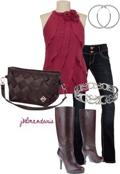 """A night out with Maggie Bag"" by jklmnodavis on Polyvore"